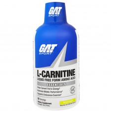 L-carnitine GATsport 1500mg 32 порции 473ml green apple